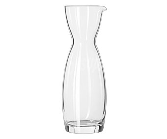 BORMIOLI Decantador o botella para vino modelo Misura, con capacidad de 1 litro y fabricada en vidrio 1 Unidad