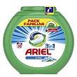 Alpine detergente máquina líquido 3 en 1 Pods ápsulas pack familiar Caja 50 c Ariel