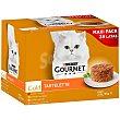Gold comida para gato húmeda tartalette surtido 24 x 85 g Purina Gourmet