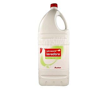 Auchan Lejía especial lavadora, mayor blancura 5 Litros