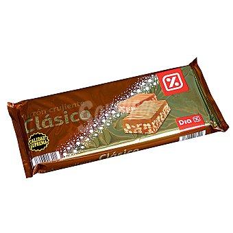 DIA Turrón crujiente clásico chocolate con leche Estuche 300 gr