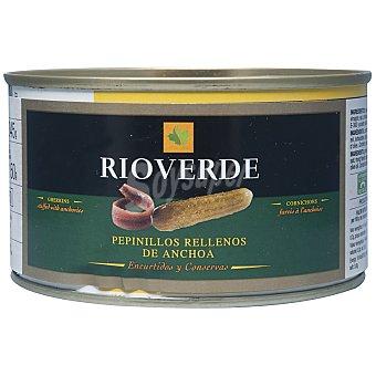 Rioverde Pepinillo relleno de anchoa natural 150 g