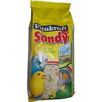 Vitafraft Arena Sandy pájaro Paquete 2,5 kg