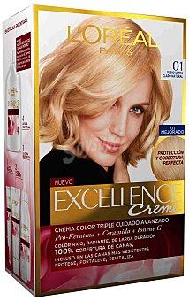 Excellence L'Oréal Paris Aclarante rubio ultra claro natural N.01 1 unidad