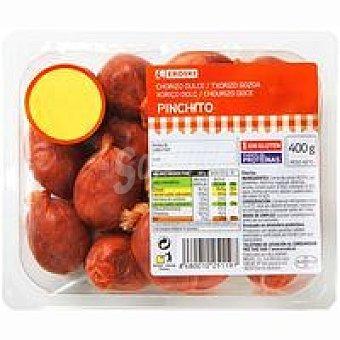 Eroski Chorizo pincho Bandeja 400 g