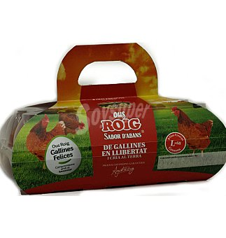 Roig Huevos Tamaño L  8 unidades