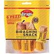 Queso Biraghini para snacks 6 uds., bolsa 100 g Biraghi