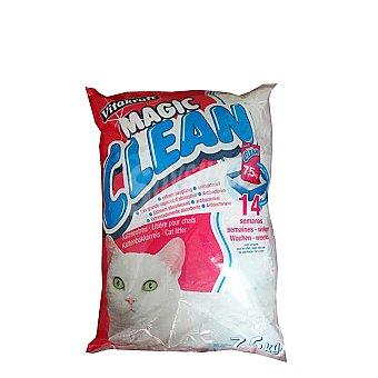 Magic Clean Vitakraft Perlas silice gatos Saco 7,5 kg