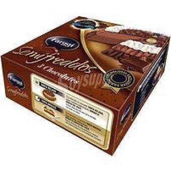 Farggi Tarta Semifreddo 3 chocos Caja 750 ml