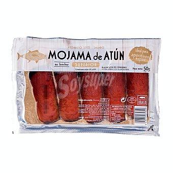 Ubago Mojama lonchas categoria superior Paquete 50 g