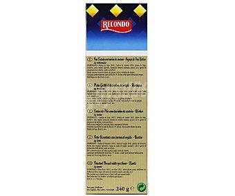 Recondo Hogaza de pan rústico Caja 240 g