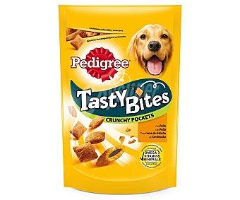 Pedigree Snacks con pollo para perro Crunchy Pocket Envase de 95 g