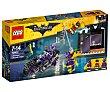 Juego de construcciones con 139 piezas Moto felina de Catwoman, The Batman Movie 70902 1 unidad LEGO