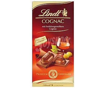 Lindt Chocolate relleno de cognac Tableta 100 g