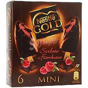 Gold Nestlé Mini bombón de frambuesa Pack 6x50 ml