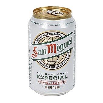 San Miguel Cerveza lager nacional especial  Lata 33 cl