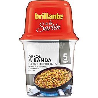 BRILLANTE A LA SARTEN Arroz a banda con chipirones Envase 625 g