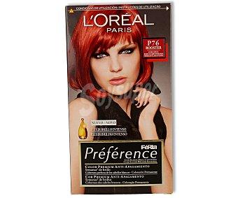 Recital Preference L'Oréal Paris Tte Rojo Claro 76 1u