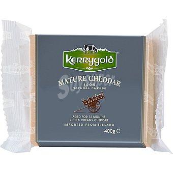 Kerrygold Queso cheddar irlandes blanco curado taco  400 g