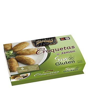 Fridela Croquetas de jamón sin gluten Caja 240 g