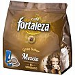 Café molido mezcla Paquete 16 monodosis Fortaleza