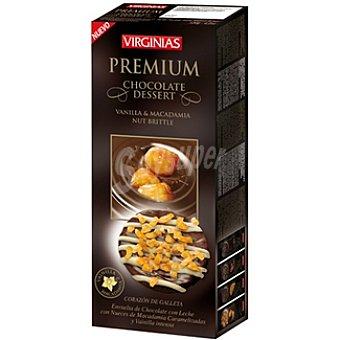 VIRGINIAS Premium Vainilla y macadamia con corazón de galleta Paquete 120 g