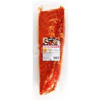 Eroski Tira de costilla cerdo sabor barbacoa 500 g