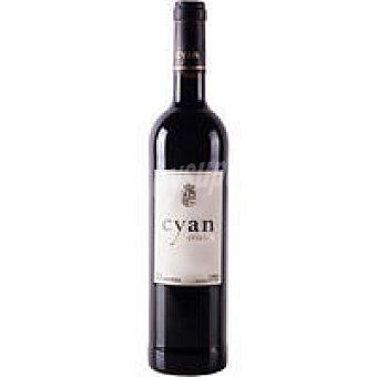 Cyan Vino Tinto Crianza Botella 75 cl