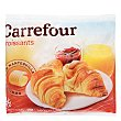 Croissants con mantequilla Pack 6x60 g Carrefour