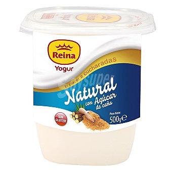 Postres Reina Yogur natural azucarado con azúcar de caña Envase de 500 gr