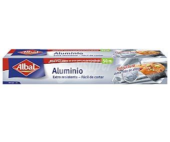Albal Papel de aluminio Rollo 50 m