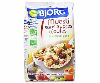 BJORG Muesli ecológico con frutas 375 gramos