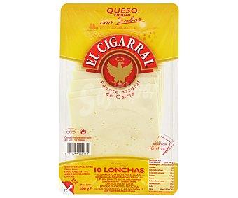 El Cigarral Queso en Lonchas Tierno 200g
