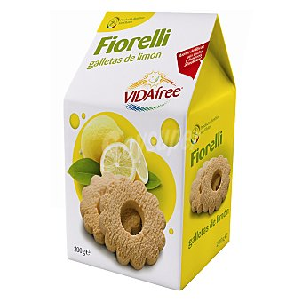 Vidafree Galletas de limón Fiorelli sin gluten 200 g