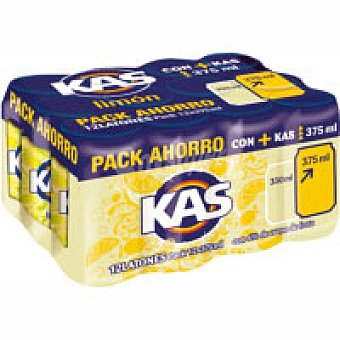 Kas Refresco de limón Pack 12x37,5 cl