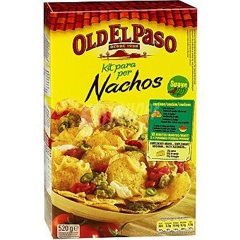 Old el Paso Nachos Kit salsa-nachos Caja 520 g