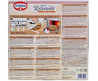 Ristorante Dr. Oetker Pizza de pollo Caja de 355 g