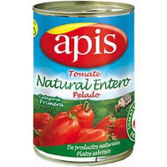 Apis Tomate natural entero pelado Lata 390 g