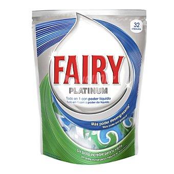 Fairy Lavavajillas maquina platinum pastilla 32 ud