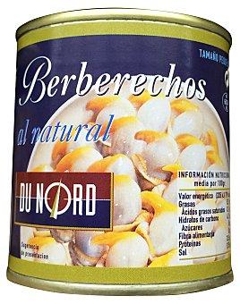 Dunord Berberechos natural pequeños Bote 90 g escurrido