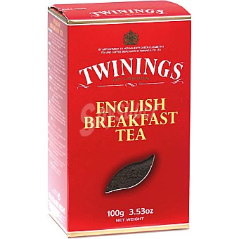 TWININGS té English Breakfast estuche 100 g