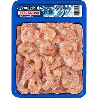 Pescanova Gamba roja pelada Bandeja 400 g (neto escurrido)