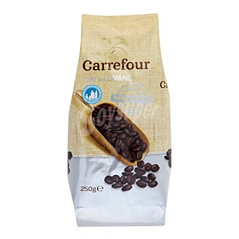 Carrefour Café de tueste torrefacto en grano 250 g
