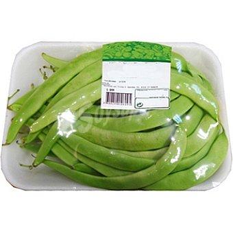 Judía verde ancha  bandeja 500 g peso aprox.