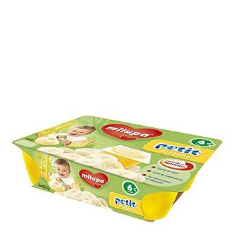 Milupa Petit plátano Pack de 6x60 g