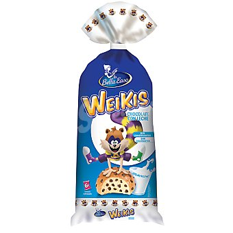 Weikis La Bella Easo La Bella Easo Weikis Chocolate con Leche 250 g (6 unidades)