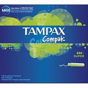 Tampax Compack Super 20+2u
