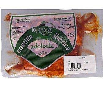 Campovilla Costillas adobadas de cerdo ibérico envasadas al vacio 600 g