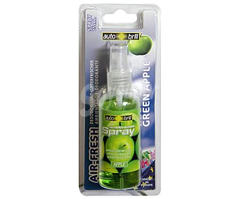AUTOBRILL Ambientador en Spray para Coche, Perfume de Manzana Verde, 75 Mililitros 1 Unidad