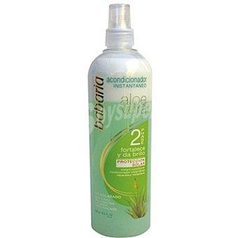Babaria Aloe vera acondicionador bifásico instantáneo fortalece y da brillo Frasco 500 ml